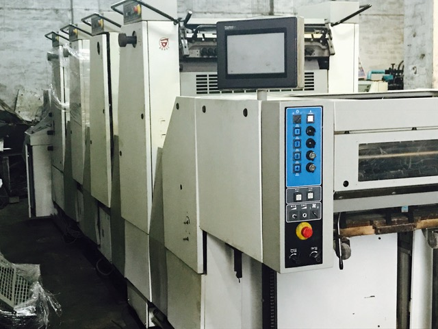 2003 Adast DOMINANT 745, Sheet fed, 19 x 26   STRAIGHT MACHINE