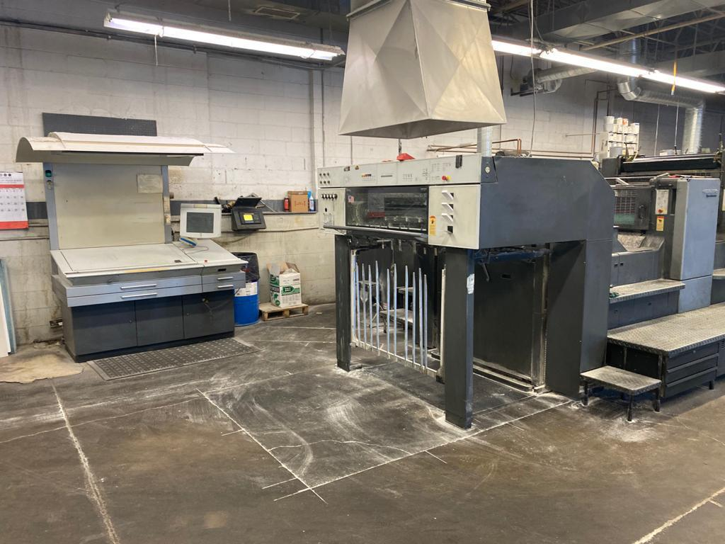 2001 HEIDELBERG 102 SIX COLOR COATER AUTOPLATE