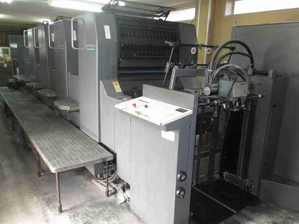 2000 HEIDELBERG SM 74 4 H, LIKE NEW