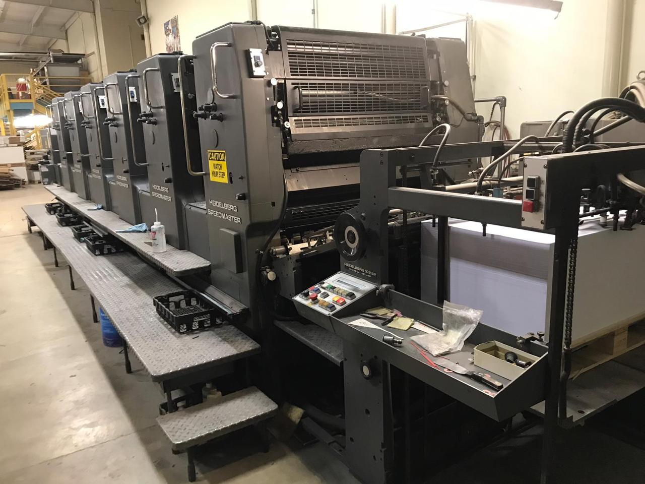 1990 HEIDELBERG 102 SIX COLOR, USA