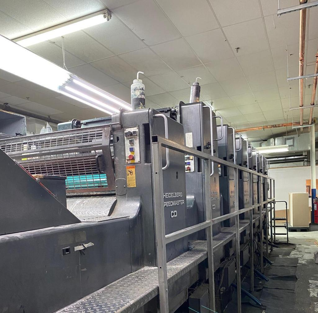 1992 HEIDELBERG CD 102 S COATER