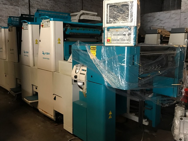 2009 KBA 66-4, Sheet fed, 19 x 26, STRAIGHT MACHINE